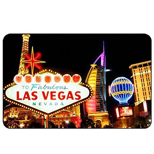 cadora Targa magnetica calamita Frigo Las Vegas