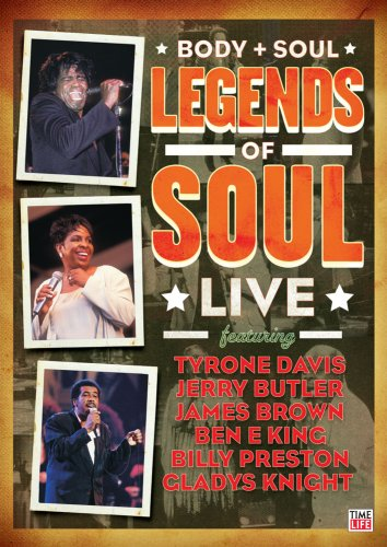 Body & Soul: Legends of Soul Live [DVD] [Import]