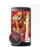 atFolix Schutzfolie kompatibel mit Lenovo Vibe X3 Lite / K4 Note Folie, entspiegelnde & Flexible FX Bildschirmschutzfolie (3X)