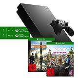 Xbox One X 1TB, schwarz - The Division 2 Bundle + Far Cry New Dawn Standard Edition - [Xbox One]