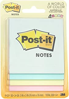 $32 » Post-It 3 in. W x 3 in. L Assorted Sticky Notes 4 pad