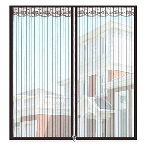Magnetisch vliegengaas voor ramen, insectenwerende horren voor ramen, insectenwerende horren 90x150Cm(35x59Zoll) strepen