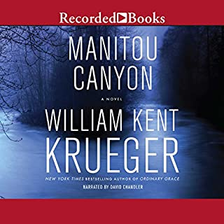 Manitou Canyon audiobook cover art