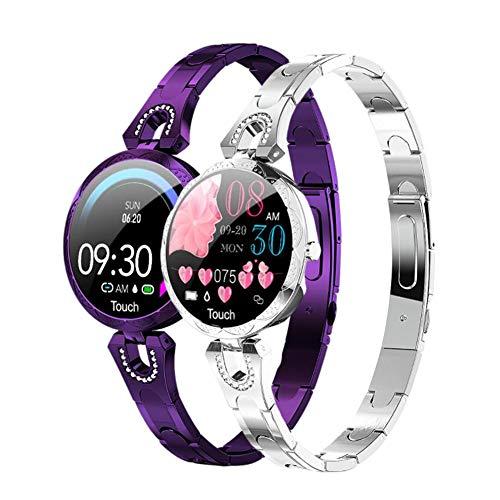 Reloj Inteligente con Pantalla Táctil De 1,03'con Monitor De Ritmo Cardíaco Y Sueño Podómetro Cronómetro Reloj De Fitness Ip67 Resistente Al Agua para Hombres Y Mujeres