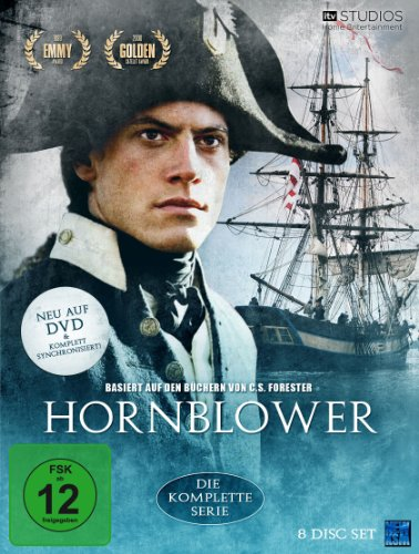 C.S. Foresters Hornblower - Die komplette Serie (8 Disc Set) [Collector\'s Edition]