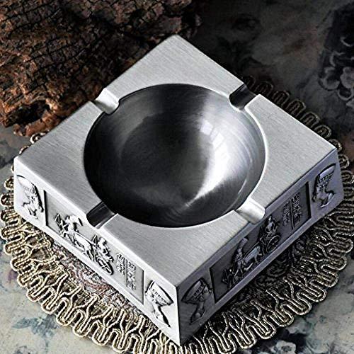 Preisvergleich Produktbild Nologo TIN-YAEN Aschenbecher Kreativ Dekorationen Art Craft Aschenbecher Retro-Hauptdekoration
