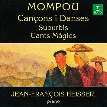 Mompou: Cançons i Danses, Suburbis & Cants Màgics