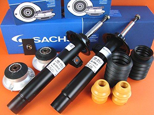 2x Sachs StoàŸdämpfer vorn VA + Staubschutz + Domlager 3er E46 556873 556874