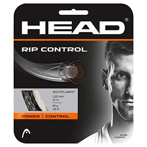 HEAD RIP Control Tennis String Set, 16g, Black