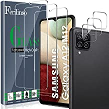 [6 Pack] Ferilinso 3 Pack Screen Protector + 3 Pack Camera Lens Protector for Samsung Galaxy A12/A12 Nacho [HD] [Tempered-Glass] [Case Friendly] [Anti-Fingerprint] [Easy Installation]