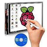 Kuman 3.5 Pouces Ecran LCD Tactile TFT 480 * 320 Module SPI Compatible Avec Raspberry pi 3 2 Modèle B/B+2B Un Stylo SC06