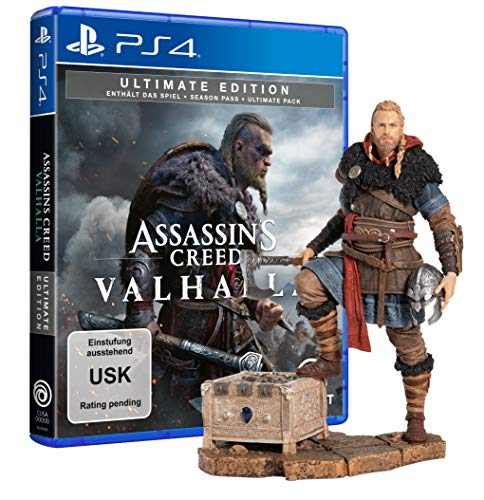 Assassin's Creed Valhalla Ultimate Edition + Eivor Wolfsmal Figur - [PlayStation 4]
