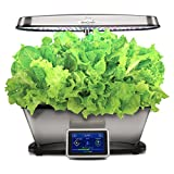 AeroGarden Bounty Elite Wi-Fi-Stainless Steel Garden