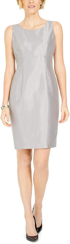 Kasper Women's Shiny Sheath Dress