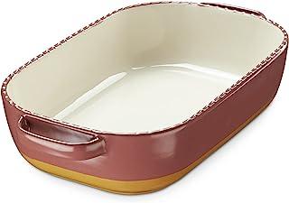 LIFVER Baking Dish, 75 oz Lasagna Pan, 13 inch Ceramic Baking Dish, Rectangular Porcelain Bakeware, Deep Baking Dishes for...