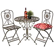 Garden furniture Table chairs metal