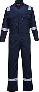 Portwest FR94 Bizflame 88/12 Iona Flame Resistant Long Sleeve Overall Fire Retardant Workwear Coverall