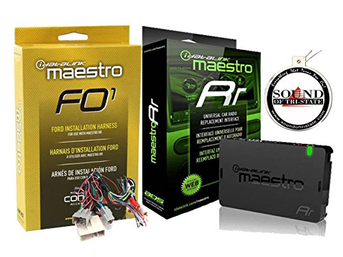 ADS Maestro ADS-MRR iDataLink Steering Wheel Interface with HRN-RR-FO1 T Harness Compatible with 2006 UP Ford Bundle + Sound of Tri-State Air Freshener