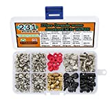 VAPKER PC Computer Screws Standoffs Set Assortment Kit Pack of 231