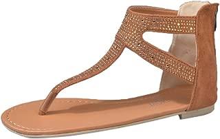 Mesdames filles d/'été plates pour femme gelée de Mode Tongs Plage Sandales Chaussures