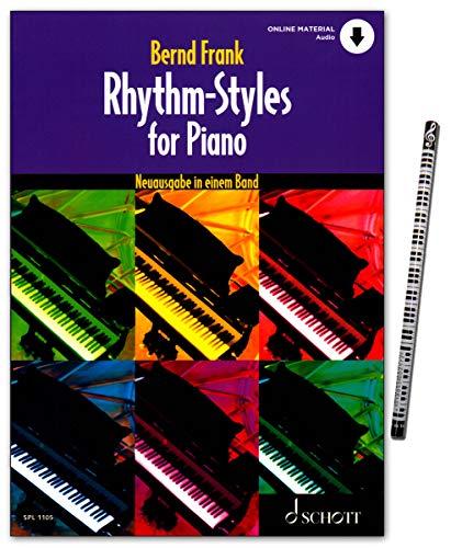 Rhythm-Styles for Piano SPL1105 9783795719159 - Libro de aprendizaje (en una banda)