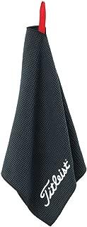 Titleist Microfiber Waffle Towel Black TA5ACMFTWL