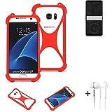 K-S-Trade® Mobile Phone Bumper + Earphones For HTC Exodus