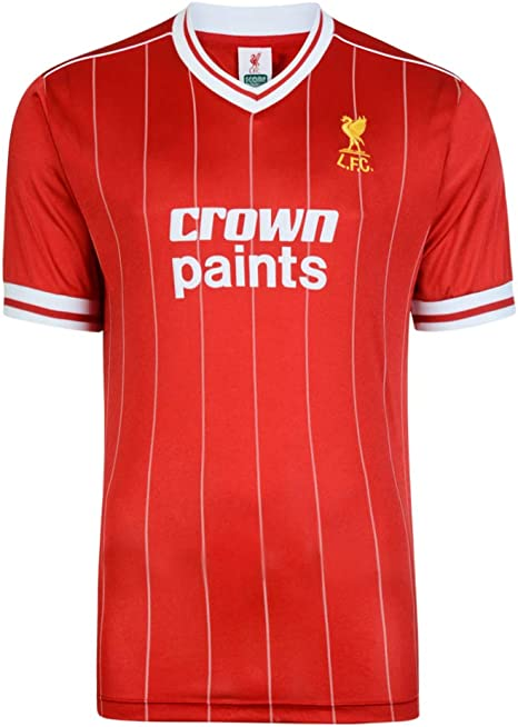 Liverpool 1982 home shirt