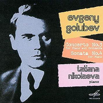 Golubev: Concerto No. 3 & Sonata No. 4