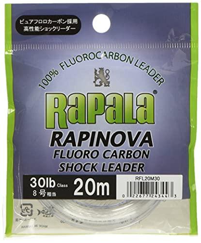 ラパラ ラピノヴァ ショックリーダー フロロカーボン 20m