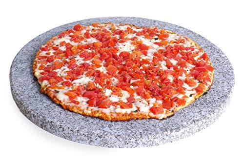 Spiceberry Home Granite Pizza Stone, 14-Inch