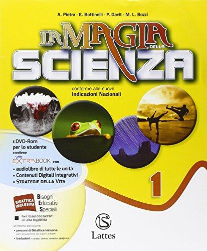 La magia della scienza. Per la Scuola media. Con DVD. Con e-book. Con espansione online. Chimica-Fisica-Mi preparo per interrogazione-Quaderno competenze (Vol. 1)