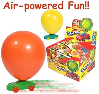 Air Powered Balloon Racing Race Car Vintage Classic Style Toy by tillon