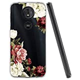 Zoeirc Moto G7 Play Case, Moto G7 Optimo Case XT1952DL Phone Case Clear Case for Girls Women, Soft TPU Shockproof Protective Transparent Phone Case Cover for Motorola Moto G7 Play(Blossom Flower)
