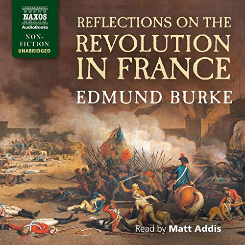 Reflections on the Revolution in France cover art