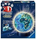 Ravensburger Erwachsenenpuzzle- Tierra en diseño, luz Nocturna. (Ravensburger...