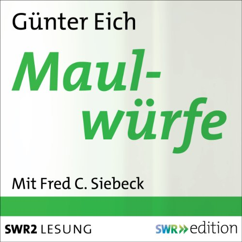 Maulwürfe audiobook cover art