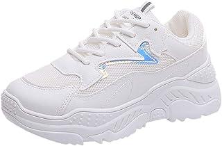 Femmes Minceur Chaussures De Sport Running Jogging Marche Baskets Plate-Forme Chaussure à Lacets éTé Femme Pas Cher Soldes...
