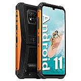 Ulefone - Teléfono resistente desbloqueado Armor 8 Pro (6 GB+128 GB), Android 11 Helio P60...