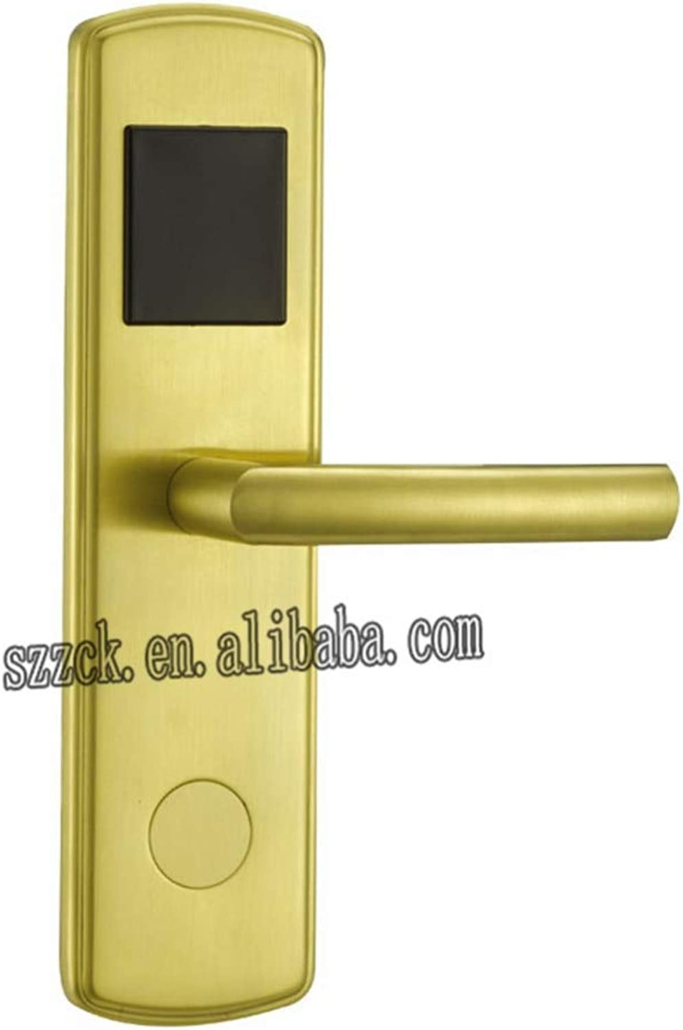 Latest Stainless Steel Electronic RFID Card Hotel Door Lock with Access Control System  (color  Temic5557)
