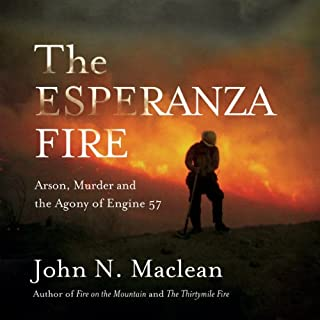 The Esperanza Fire audiobook cover art