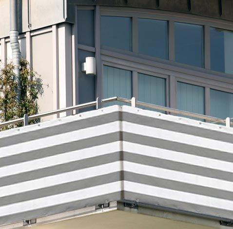 10x0,9m Balkon Sichtschutz Windschutz atmungsaktiv Modell ELECSA 362
