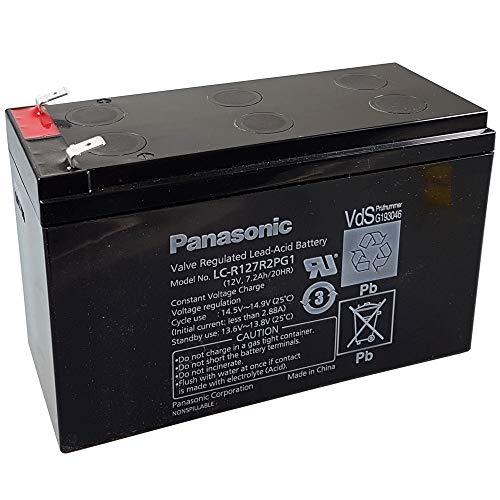 Panasonic Bleiakku LC-R127R2PG1 12,0Volt 7.200mAh mit 6,3mm Steckanschlüssen