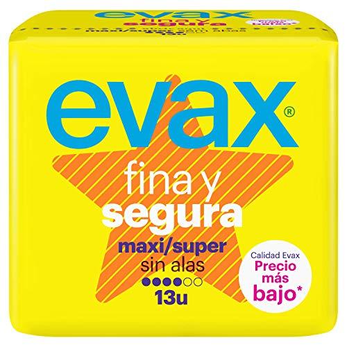 Evax Fina y Segura Maxi Compresas - 13 unidades