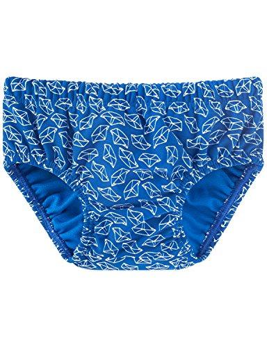 Schiesser Baby-Jungen Aqua Windelslip Badehose, Blau (Blau 800), 68 (Herstellergröße: 412)