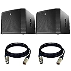 """18"""" DVX woofer for extended low-frequency response1800 W Class-D power amplifier with integrated FIR-Drive DSP135 dB peak SPLSpecial DSP preset for true cardioid performance across the full operating bandwidthCombo pole cup (insert and threaded) for ..."""