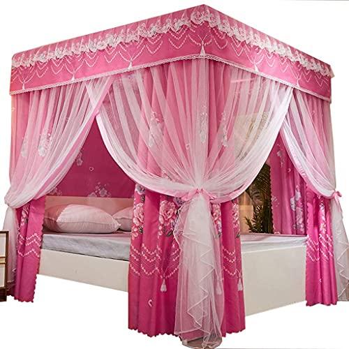 tenda da campeggio spiaggia facile Tenda da letto doppia zanzariera integrata per Uso domestico Stile Europeo con staffa zanzariera da 1,8 m 1,5 m 2 tenda da letto con ombreggiatura del Vent