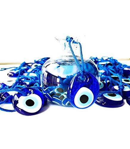Bion, Böses Auge Talisman Charm Blue Six - 1.36
