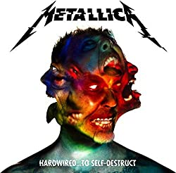 Metallica's Hardwired...To Self-Destruct album cover