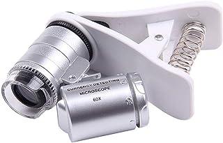 YASE-king 9882W Multi-Purpose 60 Times Microscope Jewelry Jade Identification Portable Mini High-Power Camera Phone Magnifier